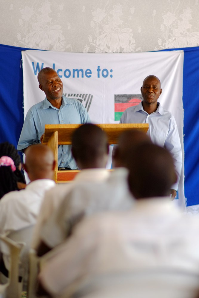 Richard from the Church in Zimbabwe